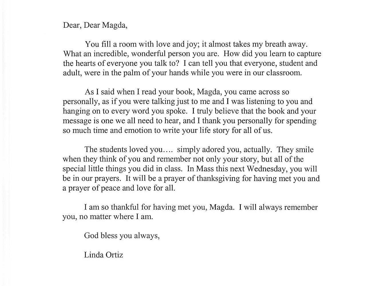 letter to someone you love so much